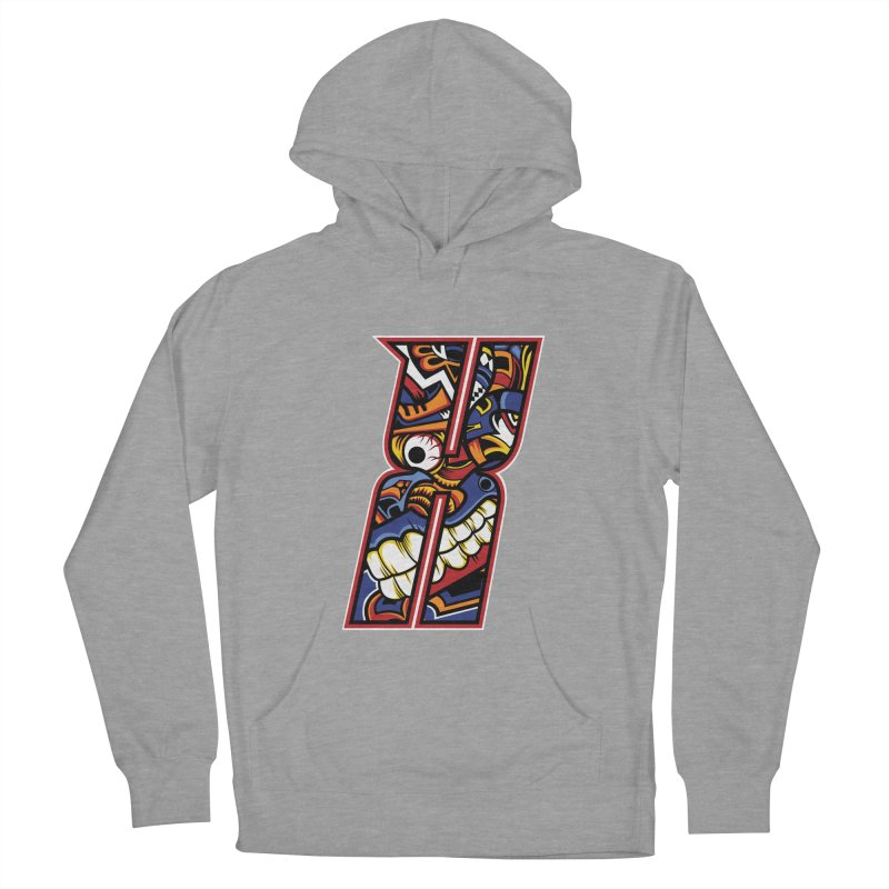 Crazy Face_X003 Women's Pullover Hoody by Art of Yaky Artist Shop