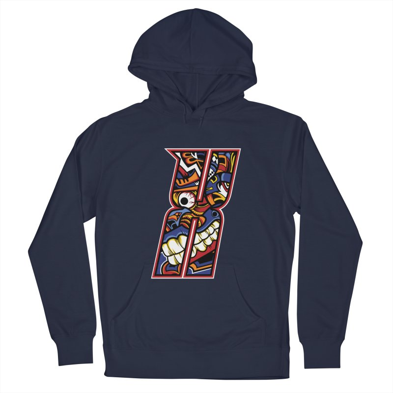 Crazy Face_X003 Men's Pullover Hoody by Art of Yaky Artist Shop