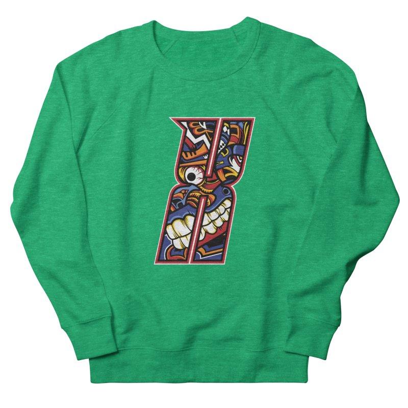 Crazy Face Alphabet (X) Men's Sweatshirt by Art of Yaky Artist Shop