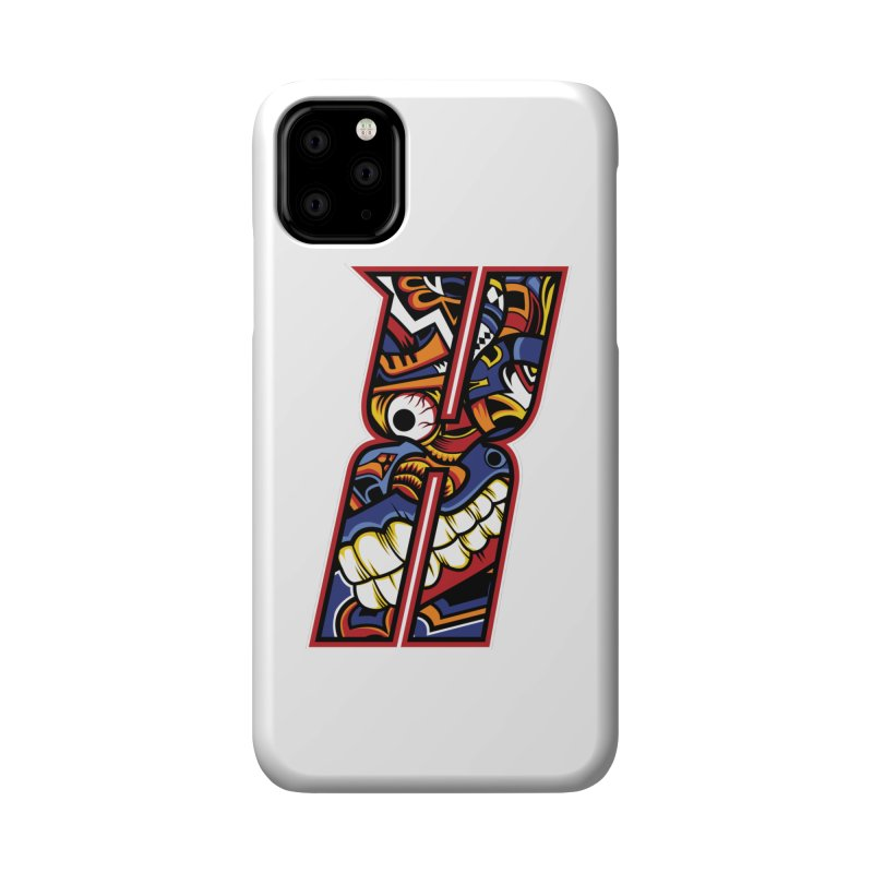 Crazy Face_X003 Accessories Phone Case by Art of Yaky Artist Shop