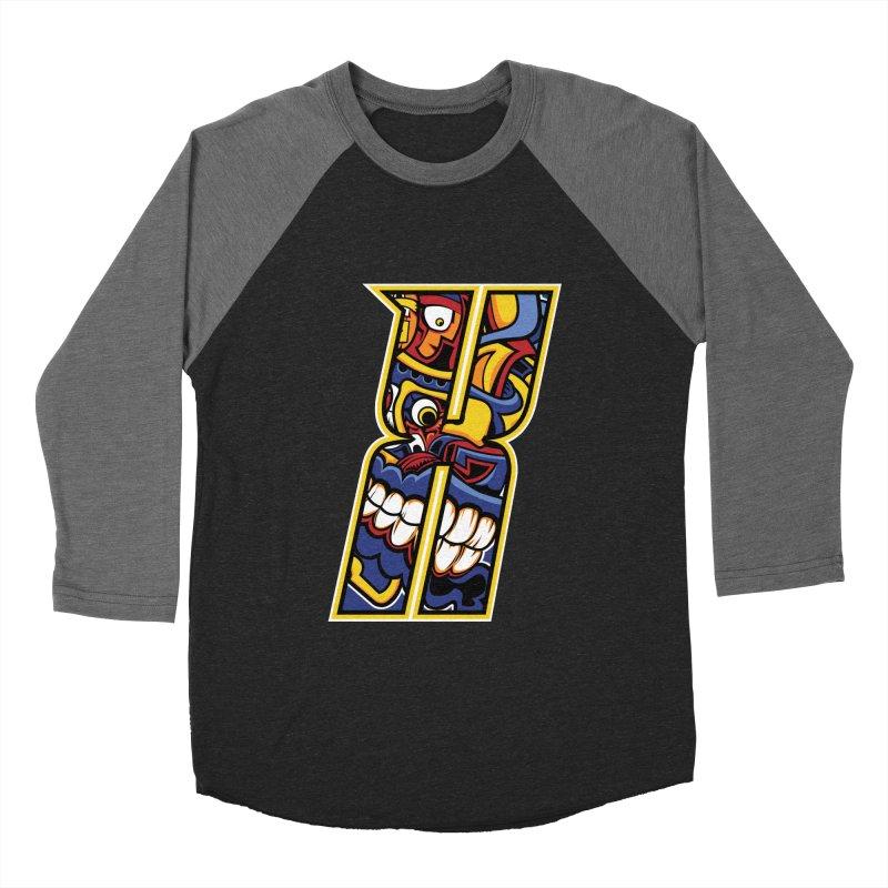Crazy Face_X004 Men's Longsleeve T-Shirt by Art of Yaky Artist Shop