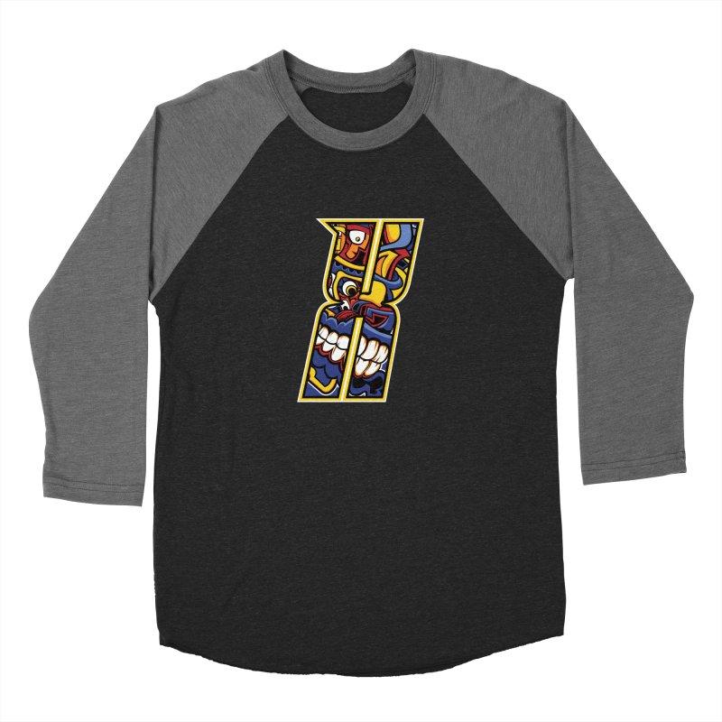 Crazy Face Alphabet (X) Women's Longsleeve T-Shirt by Yaky's Customs