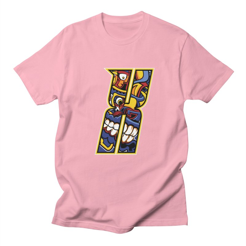 Crazy Face_X004 Women's T-Shirt by Art of Yaky Artist Shop
