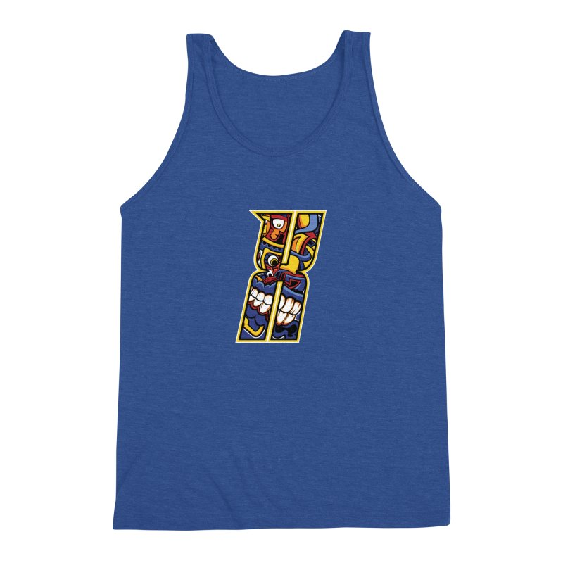 Crazy Face_X004 Men's Tank by Art of Yaky Artist Shop
