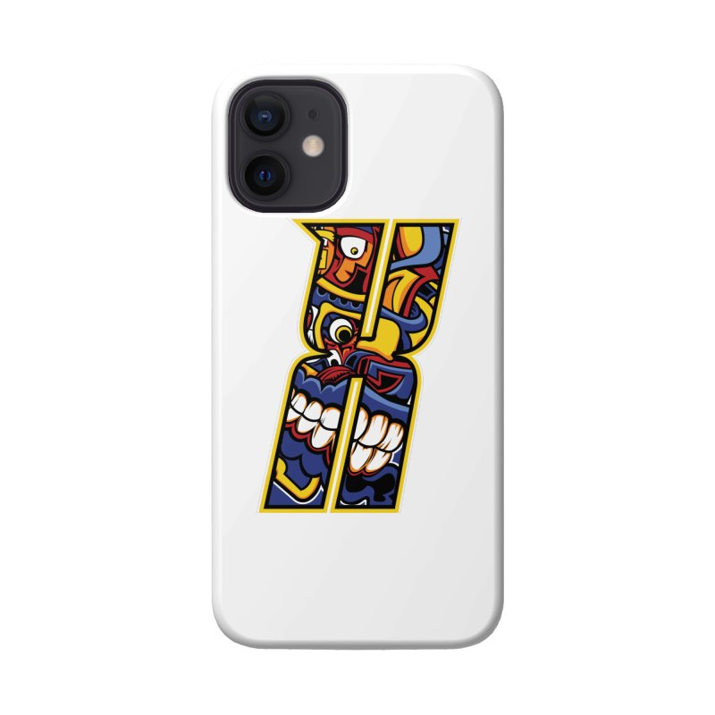 Crazy Face Alphabet (X) Accessories Phone Case by Yaky's Customs