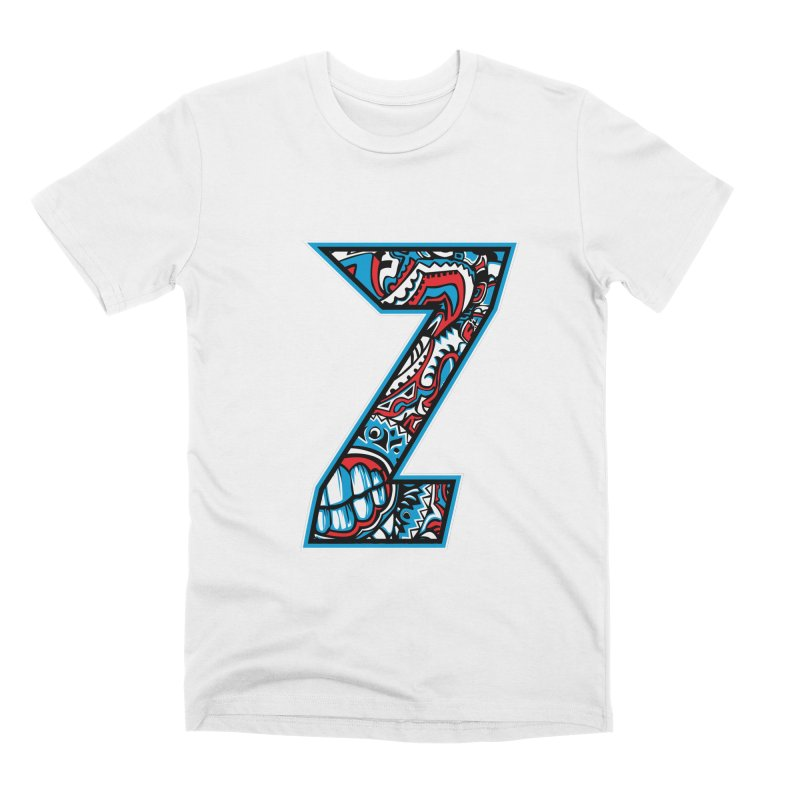 Crazy Face_Z001 Men's Premium T-Shirt by Art of Yaky Artist Shop