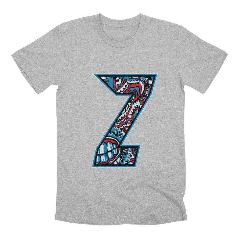 Crazy Face_Z001 Men's Premium T-Shirt by Art of Yaky Artist Shop