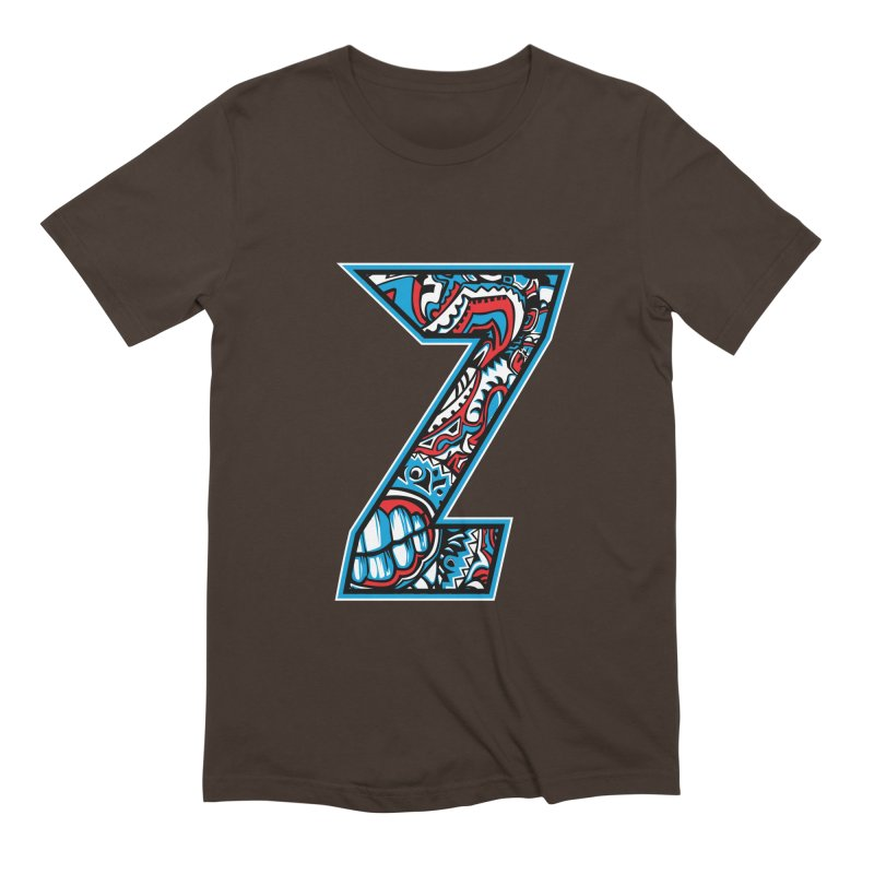Crazy Face_Z001 Men's Extra Soft T-Shirt by Art of Yaky Artist Shop