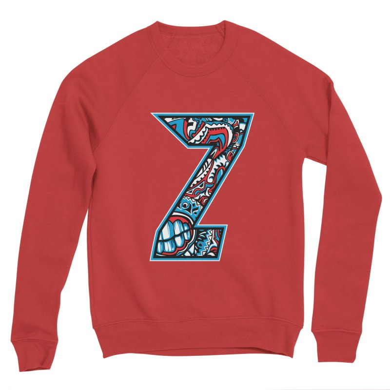 Crazy Face_Z001 Women's Sponge Fleece Sweatshirt by Art of Yaky Artist Shop