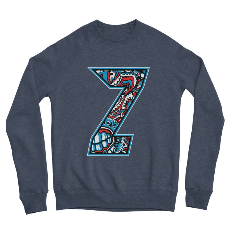 Crazy Face_Z001 Men's Sponge Fleece Sweatshirt by Art of Yaky Artist Shop