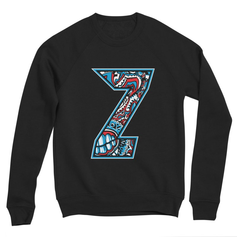 Crazy Face_Z001 Men's Sponge Fleece Sweatshirt by Art of Yaky Artist Shop