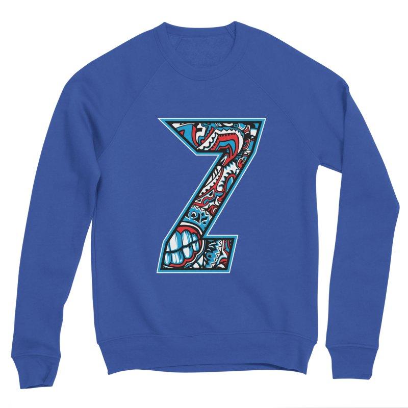 Crazy Face Alphabet (Z) Men's Sweatshirt by Art of Yaky Artist Shop
