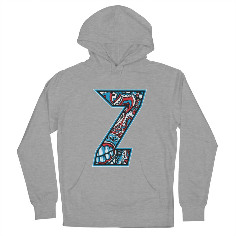 Crazy Face_Z001 Women's Pullover Hoody by Art of Yaky Artist Shop