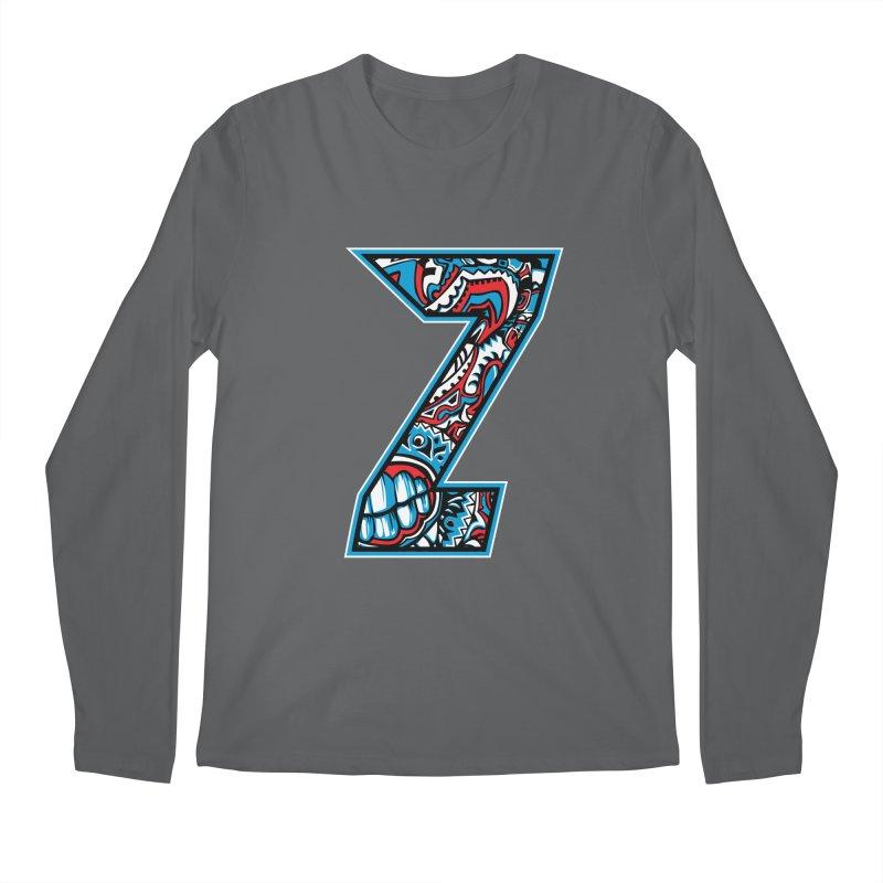 Crazy Face_Z001 Men's Longsleeve T-Shirt by Art of Yaky Artist Shop