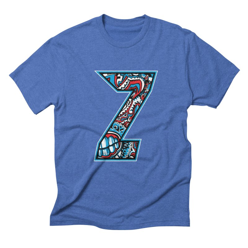 Crazy Face_Z001 Men's T-Shirt by Art of Yaky Artist Shop