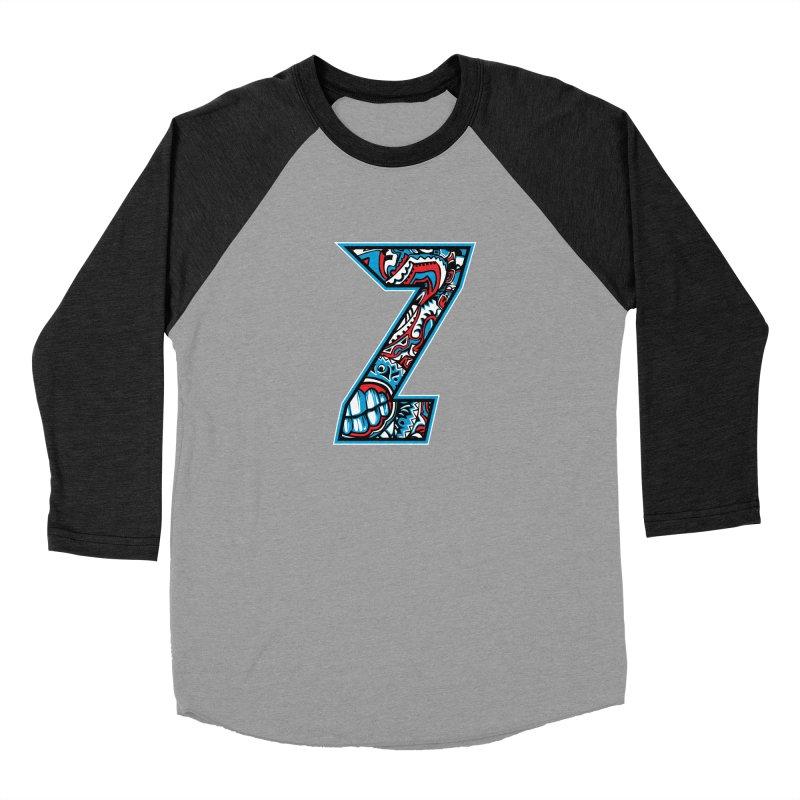 Crazy Face_Z001 Women's Baseball Triblend Longsleeve T-Shirt by Art of Yaky Artist Shop