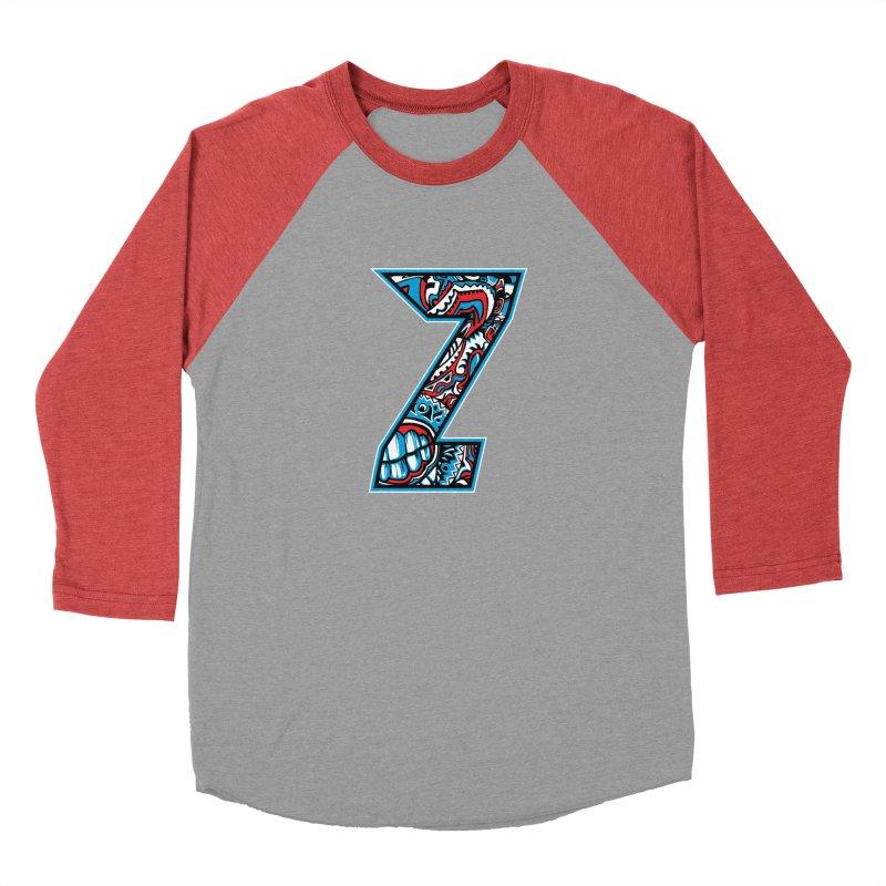 Crazy Face Alphabet (Z) Men's Longsleeve T-Shirt by Yaky's Customs