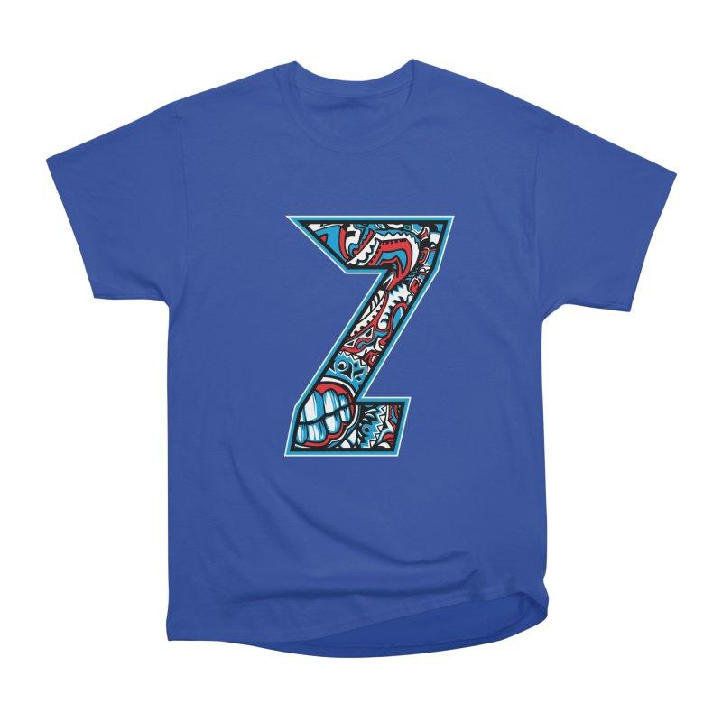 Crazy Face_Z001 Women's Heavyweight Unisex T-Shirt by Art of Yaky Artist Shop