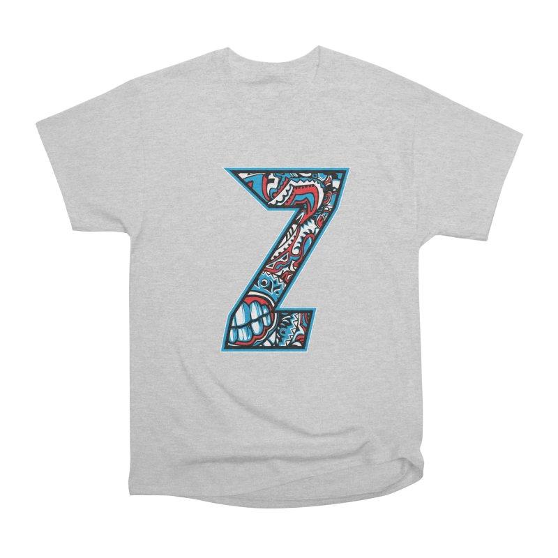 Crazy Face_Z001 Men's Heavyweight T-Shirt by Art of Yaky Artist Shop