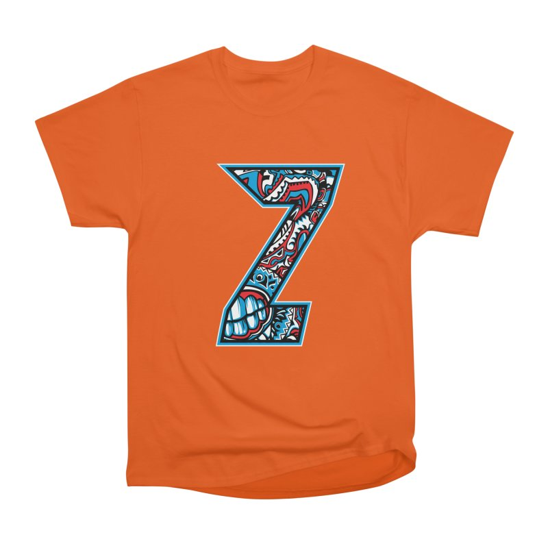 Crazy Face Alphabet (Z) Women's T-Shirt by Yaky's Customs