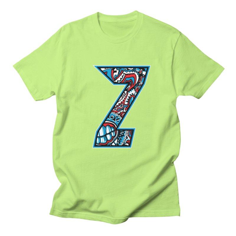 Crazy Face_Z001 Men's Regular T-Shirt by Art of Yaky Artist Shop