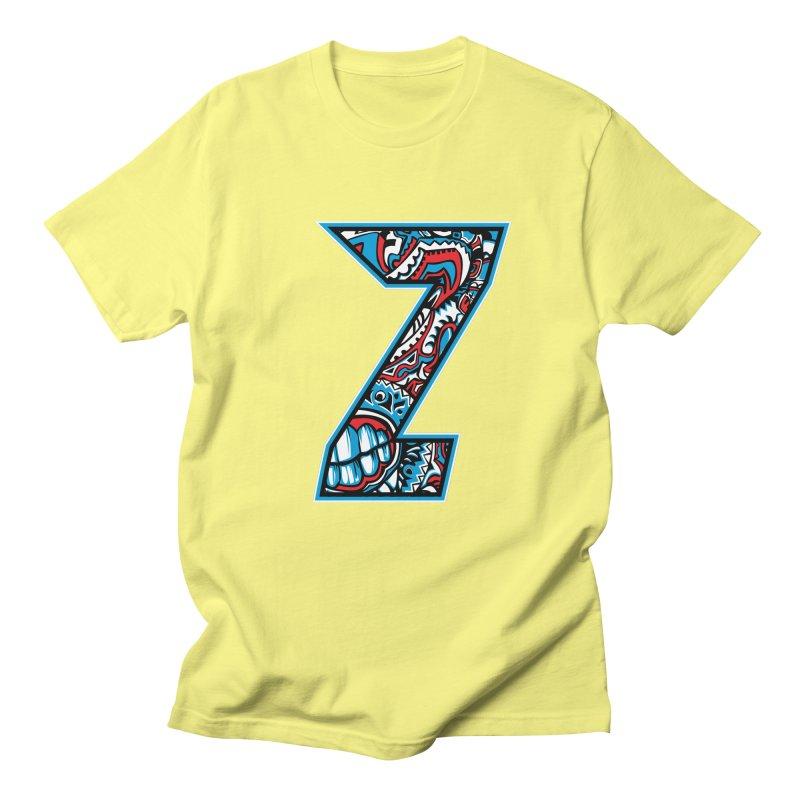 Crazy Face_Z001 Women's Regular Unisex T-Shirt by Art of Yaky Artist Shop