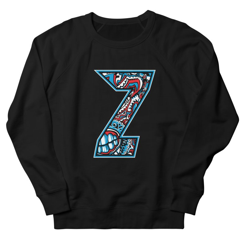 Crazy Face_Z001 Women's Sweatshirt by Art of Yaky Artist Shop