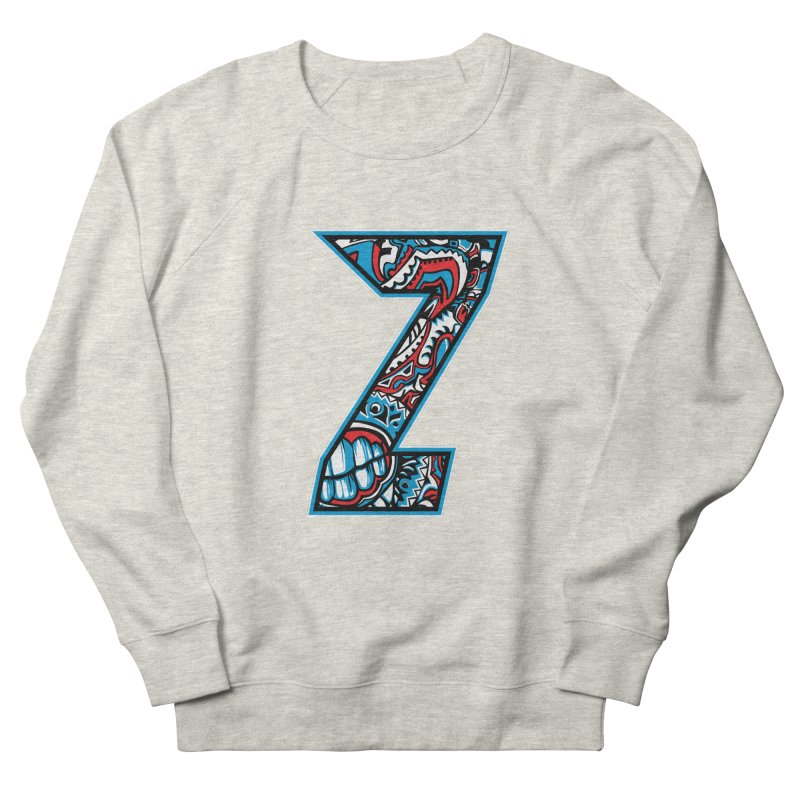 Crazy Face_Z001 Women's French Terry Sweatshirt by Art of Yaky Artist Shop