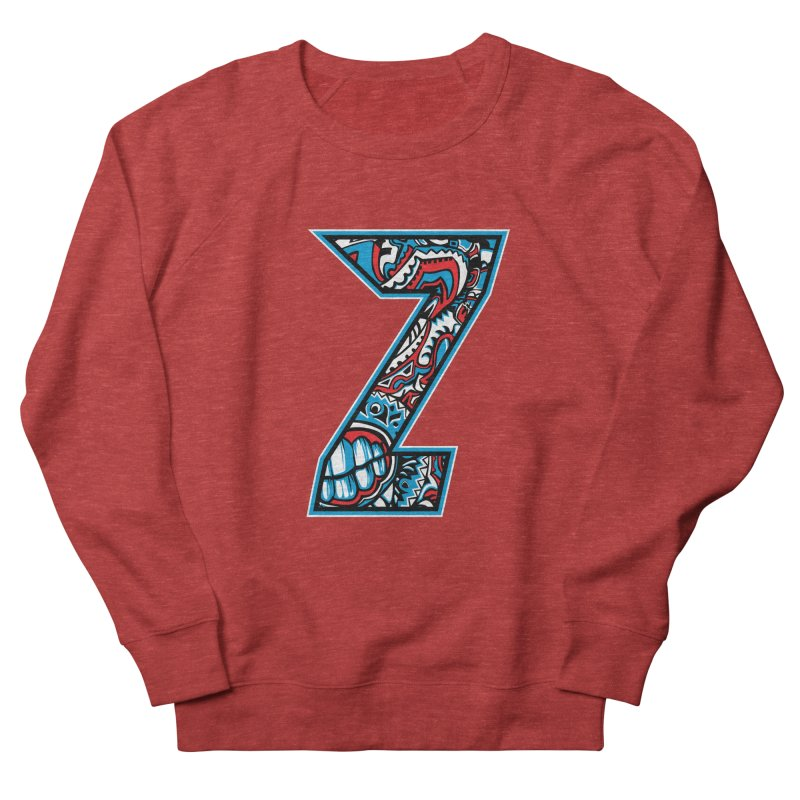 Crazy Face_Z001 Men's French Terry Sweatshirt by Art of Yaky Artist Shop