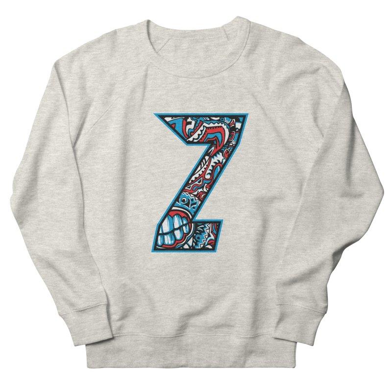 Crazy Face Alphabet (Z) Men's Sweatshirt by Yaky's Customs