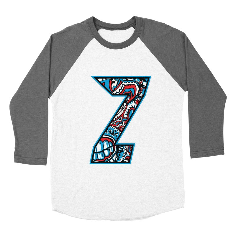 Crazy Face_Z001 Women's Longsleeve T-Shirt by Art of Yaky Artist Shop