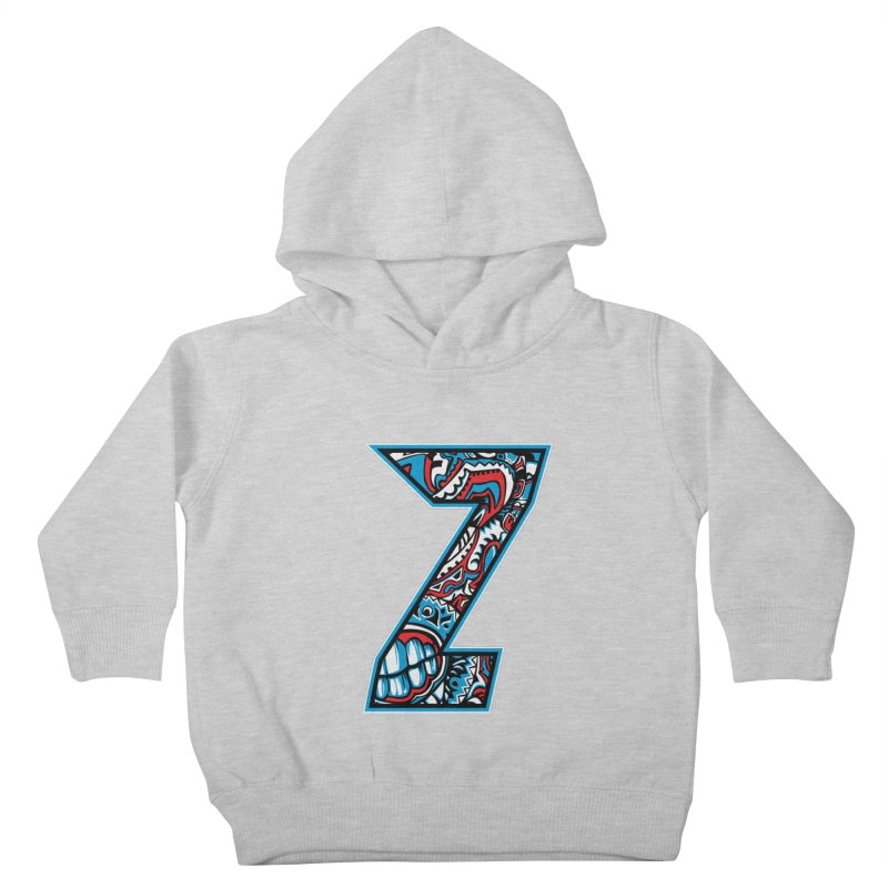 Crazy Face_Z001 Kids Toddler Pullover Hoody by Art of Yaky Artist Shop