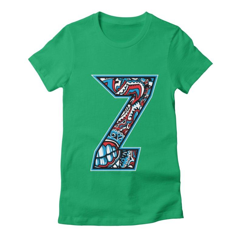 Crazy Face_Z001 Women's T-Shirt by Art of Yaky Artist Shop