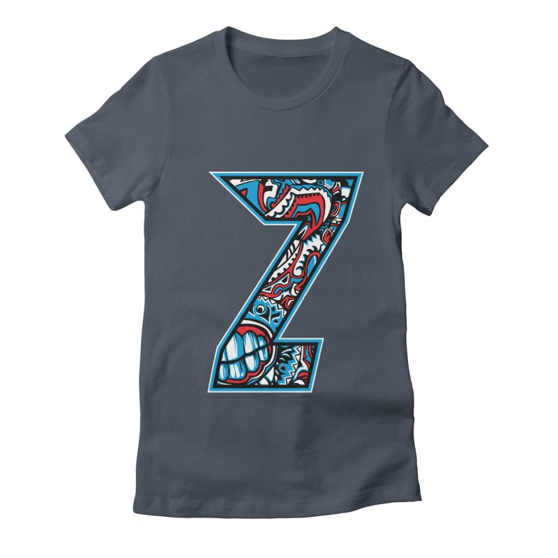 Crazy Face_Z001 Women's T-Shirt by Art of Yaky Artist Shop