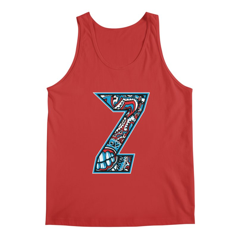 Crazy Face_Z001 Men's Regular Tank by Art of Yaky Artist Shop