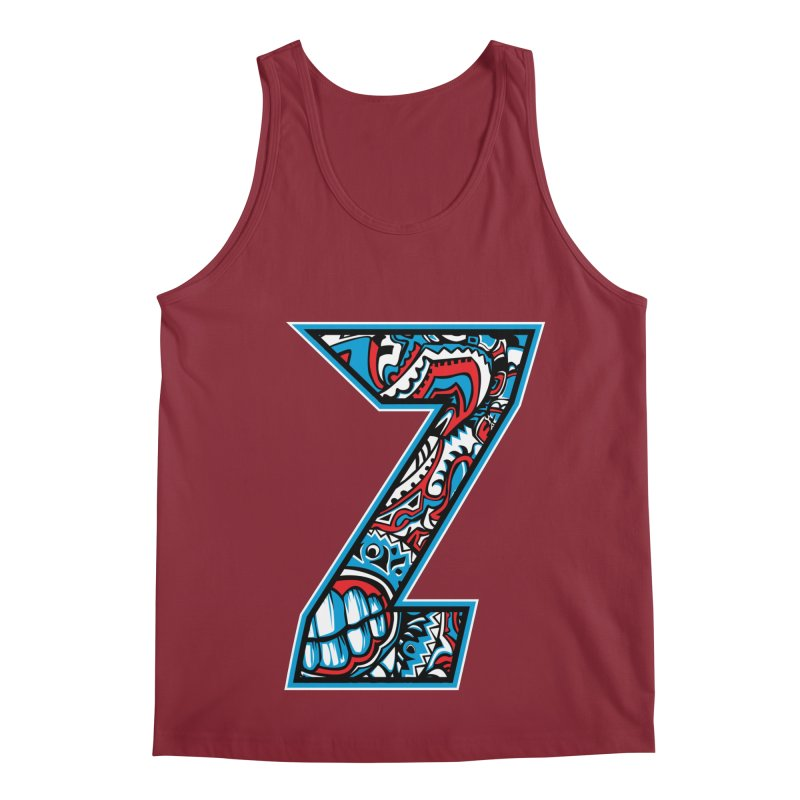 Crazy Face_Z001 Men's Tank by Art of Yaky Artist Shop
