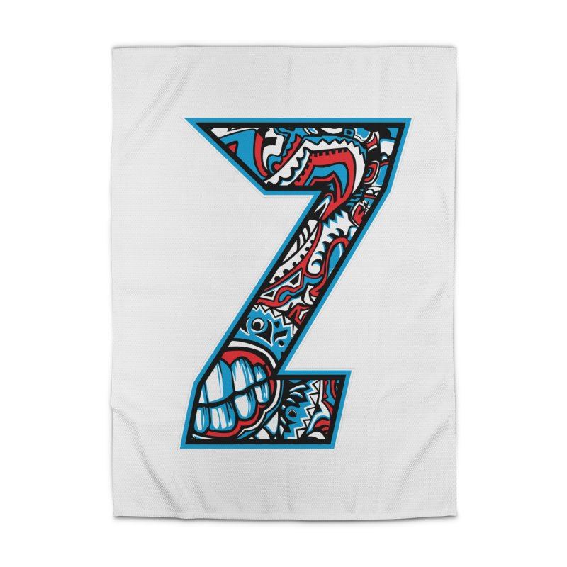 Crazy Face Alphabet (Z) Home Rug by Yaky's Customs