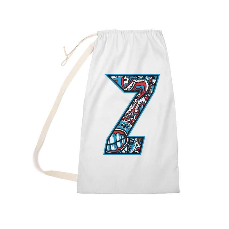 Crazy Face_Z001 Accessories Laundry Bag Bag by Art of Yaky Artist Shop