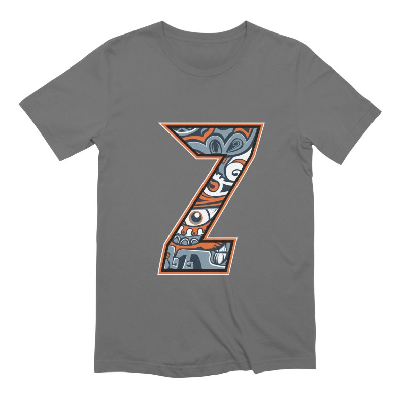 Crazy Face_Z002 Men's T-Shirt by Art of Yaky Artist Shop