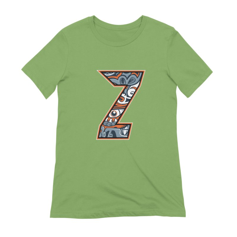 Crazy Face_Z002 Women's Extra Soft T-Shirt by Art of Yaky Artist Shop