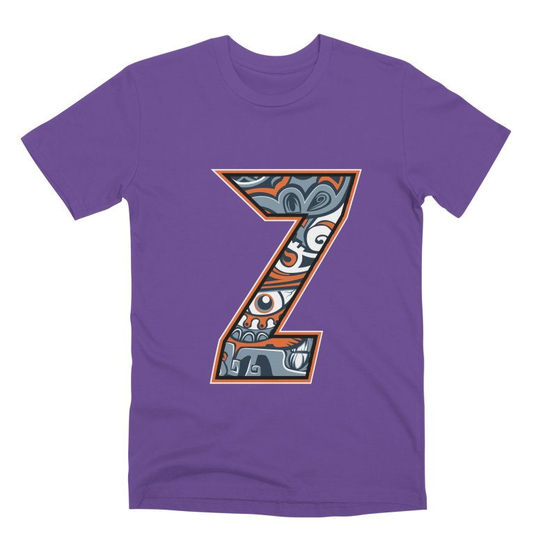 Crazy Face_Z002 Men's Premium T-Shirt by Art of Yaky Artist Shop