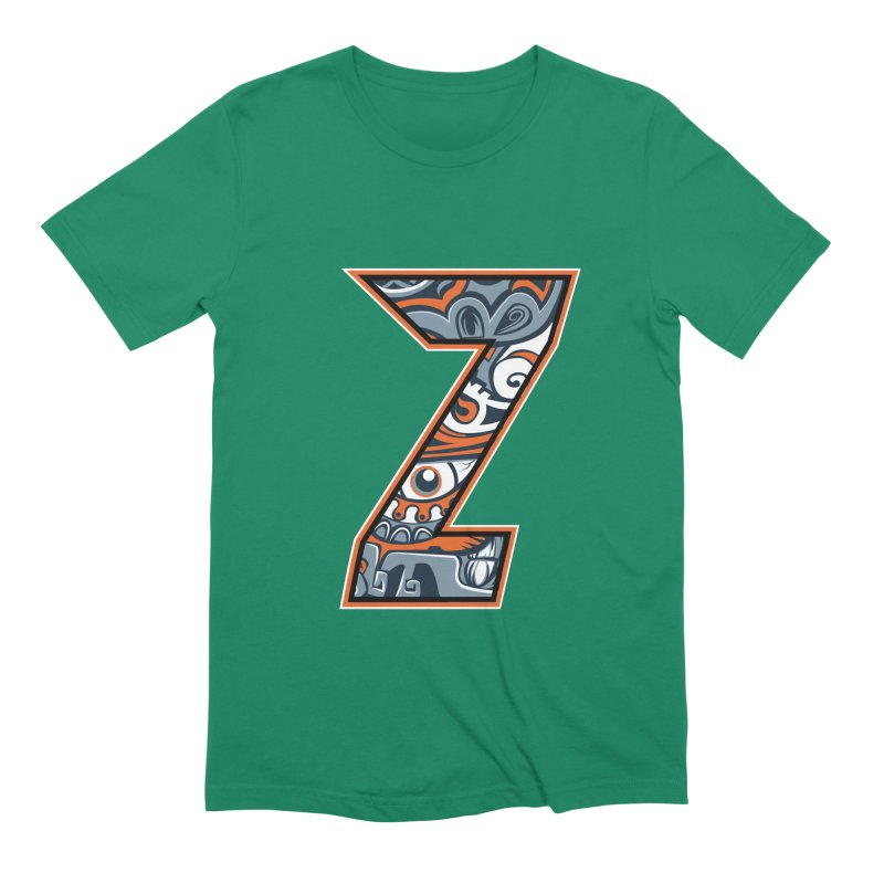 Crazy Face_Z002 Men's Extra Soft T-Shirt by Art of Yaky Artist Shop