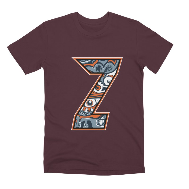 Crazy Face_Z002 Men's Premium T-Shirt by Art of Yaky Artist Shop