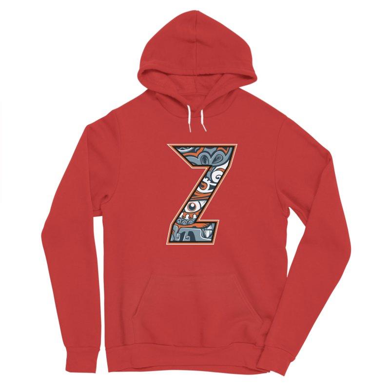 Crazy Face Alphabet (Z) Men's Pullover Hoody by Yaky's Customs