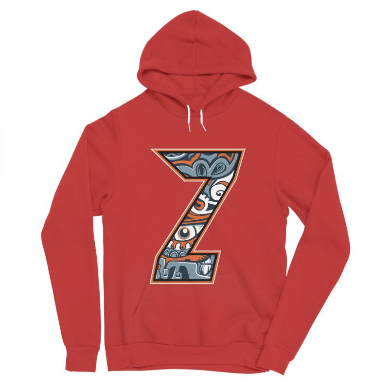Crazy Face_Z002 Women's Pullover Hoody by Art of Yaky Artist Shop