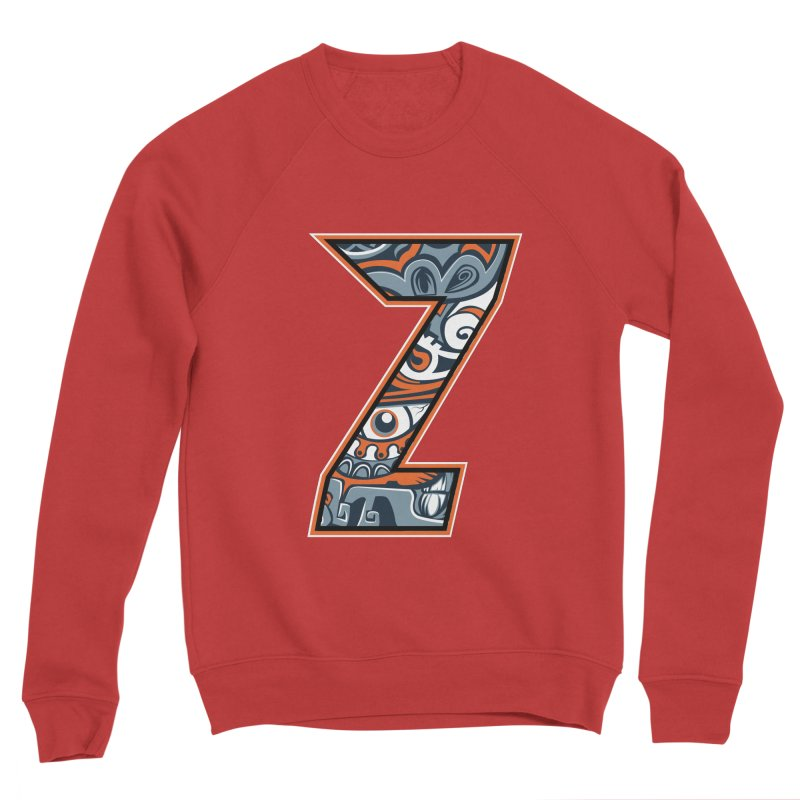 Crazy Face_Z002 Men's Sponge Fleece Sweatshirt by Art of Yaky Artist Shop