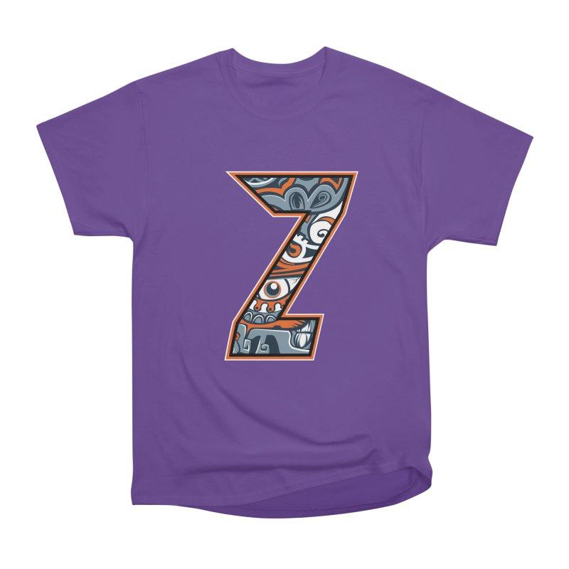 Crazy Face_Z002 Women's Heavyweight Unisex T-Shirt by Art of Yaky Artist Shop