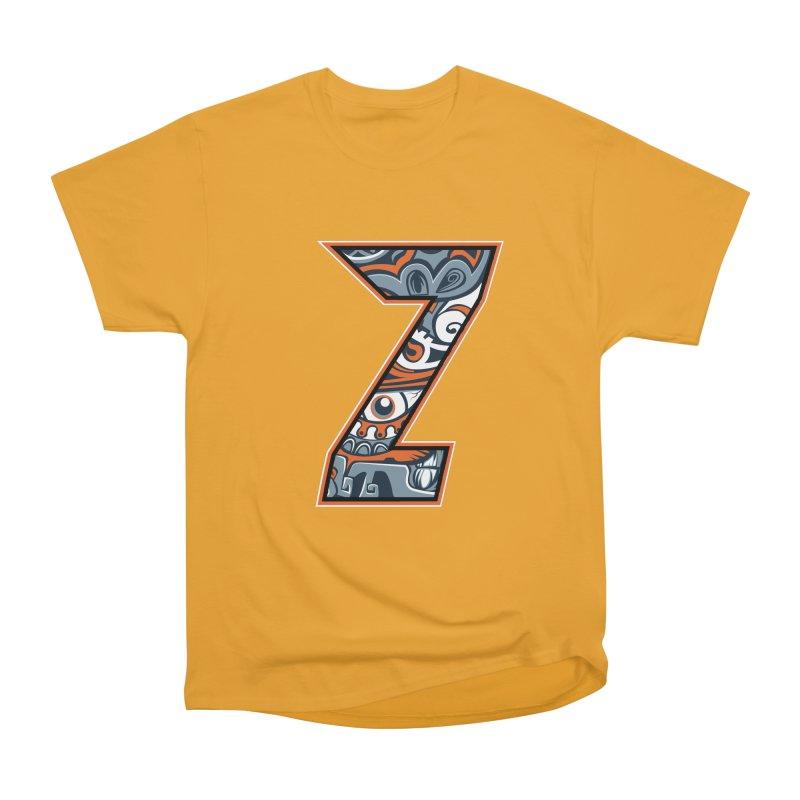 Crazy Face_Z002 Men's Heavyweight T-Shirt by Art of Yaky Artist Shop