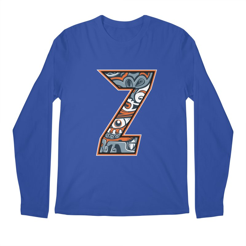 Crazy Face_Z002 Men's Regular Longsleeve T-Shirt by Art of Yaky Artist Shop
