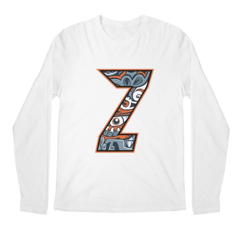 Crazy Face_Z002 Men's Regular Longsleeve T-Shirt by Art of Yaky Artist Shop